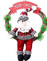 Недорогие -Рождественские украшения Праздник деревянный / PVC куб Оригинальные Рождественские украшения