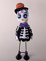 Недорогие -Праздничные украшения Украшения для Хэллоуина Хэллоуин Развлекательный Декоративная Черный 1шт