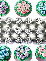 Недорогие -Инструменты для выпечки Нержавеющая сталь Очаровательный Торты Круглый Формы для пирожных / Скалка 1шт