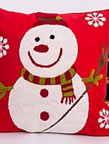 baratos -Cobertura de Almofada / Enfeites de Natal Natal Não-Tecelado Rectângular Novidades Decoração de Natal