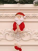 baratos -Ornamentos Natal Têxtil / Tecido Novidades Decoração de Natal