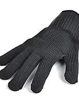 Недорогие -1 пара Стальная проволока Перчатка Безопасность и защита Противоскользящий