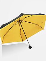 Недорогие -Нержавеющая сталь Жен. Солнечный и дождливой / Новый дизайн Складные зонты