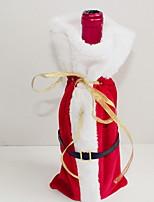 Недорогие -Мешки для вина Новогодняя тематика / Праздник Нетканый материал куб Оригинальные Рождественские украшения