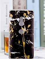 billiga -fodral Till Sony Xperia XZ2 Compact / Xperia XZ2 Genomskinlig / Mönster Skal Marmor Mjukt TPU för Huawei P20 / Huawei P20 Pro / Huawei P20 lite