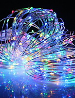 Недорогие -2,5м Гирлянды 20 светодиоды Разные цвета Новый дизайн / Декоративная / Cool Солнечная энергия