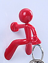 Недорогие -Крючки обожаемый / Креатив Модерн пластик 1шт Украшение ванной комнаты