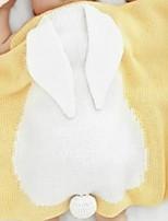 baratos -Flanela, Impressão Reactiva Poá Algodão / Poliéster cobertores