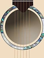 Недорогие -профессиональный Аксессуары для гитары Гитара Другие материалы Аксессуары для музыкальных инструментов 12.5*12.5*0.15 cm
