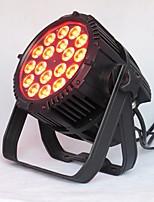 baratos -1pç 200 W 3200~5600 lm 18 Contas LED Criativo Regulável Instalação Fácil Luzes LED de Cenário Mudança 220-240 V Comercial Palco Corredor / Escadas