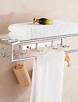 Недорогие -Полка для ванной Новый дизайн / Cool Современный Нержавеющая сталь 1шт Двуспальный комплект (Ш 200 x Д 200 см) На стену