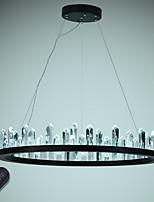 Недорогие -VALLKIN Круглый Люстры и лампы Рассеянное освещение Окрашенные отделки Металл Хрусталь, Регулируется, Диммируемая 110-120Вольт / 220-240Вольт Диммируемый с дистанционным управлением