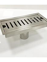 Недорогие -Слив Новый дизайн / Cool Современный Нержавеющая сталь / железо 1шт Установка на полу