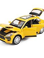 Недорогие -Игрушечные машинки внедорожник Транспорт Автомобиль Вид на город Cool утонченный Металлический сплав Детские Для подростков Все Игрушки Подарок