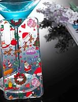 abordables -Coque Pour Huawei P20 lite / P10 Lite Transparente / Motif Coque Noël Flexible TPU pour Huawei P20 / Huawei P20 Pro / Huawei P20 lite