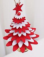 Недорогие -Рождество Праздник Ткань В Форменно Мультипликация Рождественские украшения