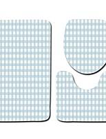 Недорогие -3 предмета Modern Коврики для ванны 100 г / м2 полиэфирный стреч-трикотаж Новинки Овал / Прямоугольная Ванная комната Милый