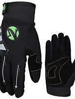 baratos -Luvas Esportivas Luvas de Ciclismo / Luvas Táteis Respirável / Vestível / Anti-Derrapante Dedo Total Fibra de Algodão Ciclismo / Moto Homens / Mulheres