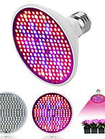 abordables -1pc 6 W 150-180 lm E26 / E27 Ampoule en croissance 200 Perles LED SMD 2835 Spectre complet 85-265 V