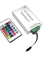 abordables -ZDM® 1pc SMD 3528 / SMD 5050 Télécommandé / Accessoire d'ampoule / Accessoire de feuillard Manette Plastique et métal pour la lumière de bande de LED RVB 120 W