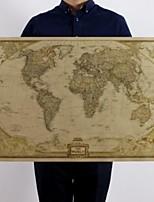 Недорогие -большой старинный мир карта канцелярские принадлежности подробный античный плакат настенная диаграмма ретро бумага матовая крафт-бумага 28 * 18inch карта мира