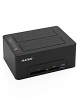 Недорогие -MAIWO Корпус жесткого диска ABS смолы USB 3.0 K3082CR双盘底座