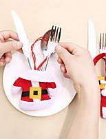 baratos -Natal Natal / Férias Não-Tecelado Quadrada Desenho Animado / Novidades Decoração de Natal