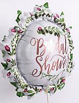 Недорогие -Воздушный шар Фольга 1шт Свадебные прием