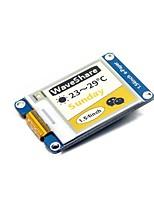 abordables -Module de papier électronique waveshare 1,54 pouce (c) 152x152 Module d'affichage d'encre 1,54 pouces jaune / noir / blanc tricolore