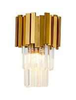 abordables -Cristal / Style mini / Design nouveau simple / Moderne / Contemporain Appliques Salle de séjour / Chambre à coucher Métal Applique murale 110-120V / 220-240V 60 W