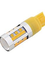 Недорогие -SO.K 2pcs T20 (7440,7443) Автомобиль Лампы 21 W SMD 4014 1800 lm 105 Светодиодная лампа Лампа поворотного сигнала / Мотоцикл / Аксессуары Назначение Универсальный Все года
