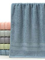 abordables -Qualité supérieure Serviette, Couleur Pleine 100% Coton Chambre à coucher 1 pcs