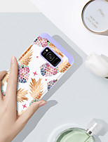 billiga -BENTOBEN fodral Till Samsung Galaxy S8 Plus Stötsäker / Mönster Skal Frukt Hårt PC / Kiselgel för S8 Plus