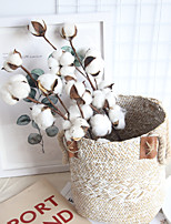 Недорогие -Искусственные Цветы 1 Филиал Классический Деревня / Пастораль Стиль Вечные цветы Букеты на стол