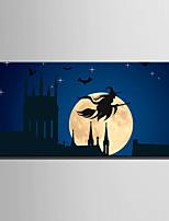 abordables -Imprimé Impression sur Toile - Abstrait / Halloween Moderne