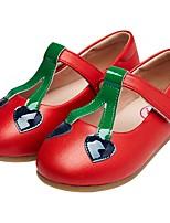 Недорогие -Девочки Обувь Полиуретан Весна & осень Удобная обувь / Детская праздничная обувь На плокой подошве для Золотой / Красный