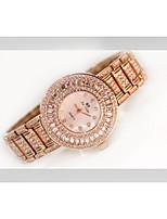 baratos -Mulheres Relógio de Pulso Quartzo imitação de diamante Lega Banda Analógico Fashion Prata / Dourada / Ouro Rose - Dourado Prata Ouro Rose / Aço Inoxidável