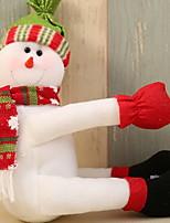 Недорогие -Мешки для вина Хлопок куб Оригинальные Рождественские украшения