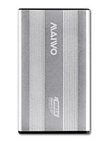 baratos -MAIWO Gabinete do disco rígido Liga de alumínio USB 3.0 K2501银色