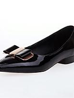 Недорогие -Жен. Комфортная обувь Лакированная кожа Лето Обувь на каблуках На шпильке Черный / Розовый