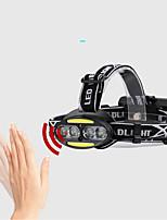 abordables -800 lm Lampes Frontales / Phare Avant de Moto LED 5 Mode 2504-B - Imperméable / Ajustable / Durable