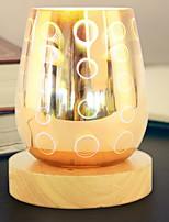 Недорогие -1шт 3D ночной свет Поменять DC Powered Новый дизайн / Cool 220-240 V
