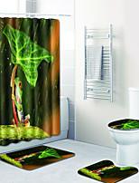Недорогие -1 комплект На каждый день Коврики для ванны 100 г / м2 полиэфирный стреч-трикотаж Животное Прямоугольная Ванная комната Жутко