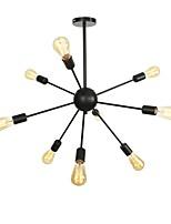 baratos -9-luz Luzes Pingente Luz Ambiente Metal Novo Design 110-120V / 220-240V Lâmpada Não Incluída / E26 / E27