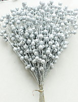 Недорогие -Орнаменты Цветы пластик / PVC Оригинальные Рождественские украшения