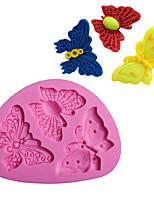 Недорогие -Инструменты для выпечки силикагель обожаемый / 3D / Своими руками Повседневное использование / Торты / Для приготовления пищи Посуда Формы для пирожных 1шт