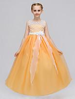 Недорогие -Дети Девочки Пэчворк Без рукавов Платье