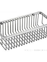 Недорогие -Полка для ванной Новый дизайн / Cool Современный Нержавеющая сталь 1шт На стену