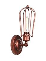 baratos -Estilo Mini / Novo Design Retro / Vintage / Regional Luminárias de parede Sala de Estar / Quarto de Estudo / Escritório Metal Luz de parede 110-120V / 220-240V 40 W