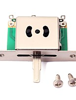 Недорогие -профессиональный Аксессуары для электрогитары Электрическая гитара Металл Аксессуары для музыкальных инструментов 0.86*0.6*0.3 cm